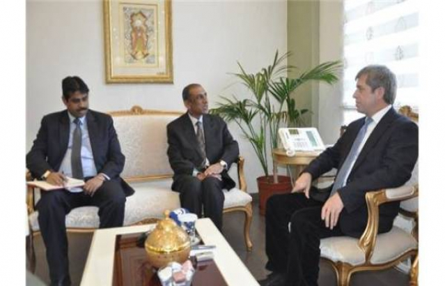 Ambassador meeting the Governor of Canakkale on 2nd March, 2015