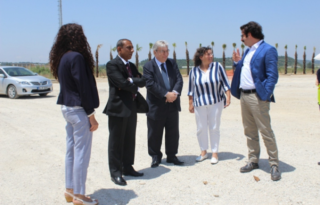 Ambassador's visit to Expo 2016 site in Antalya