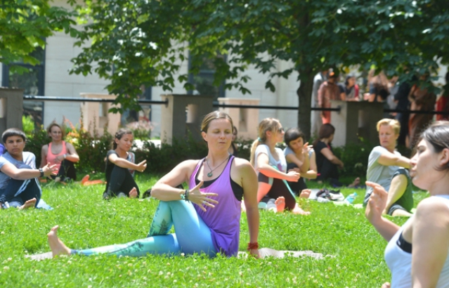 International Day of Yoga Celebrations, 21st June, 2015, METU, Ankara
