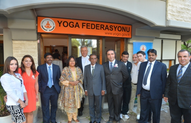 Yoga Federation Programme at Ankara (21 June, 2015)