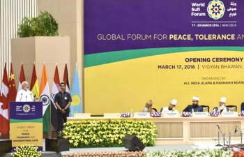 PM�s address at the World Sufi Forum