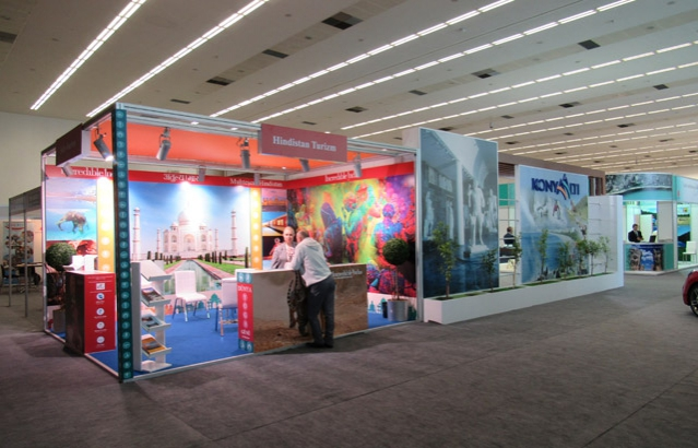 India Tourism Pavilion at Travel Expo Ankara, April 21-24, 2016