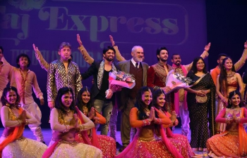 Taj Express� theatre group performed at the inauguration of 7th Antalya International Theatre Festival, in Antalya, May 17-18, 2016