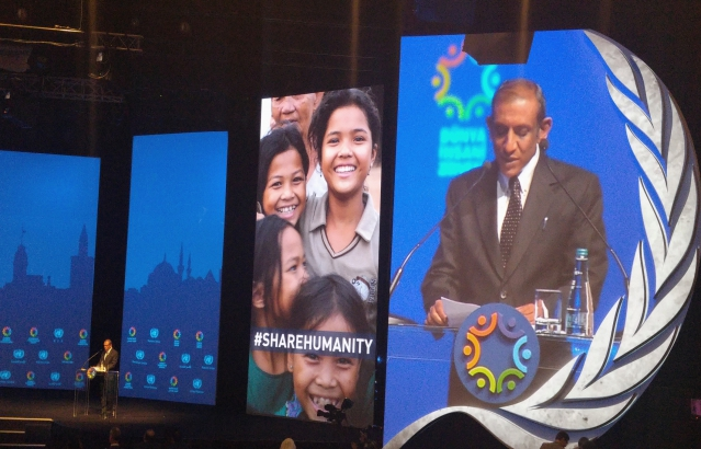 Statement of India in the Announcement Plenary of the World Humanitarian Summit at Istanbul