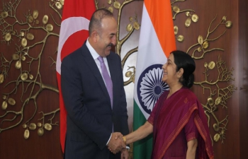 Visit of Minister of Foreign Affairs of Turkey to India (August 18-20, 2016)