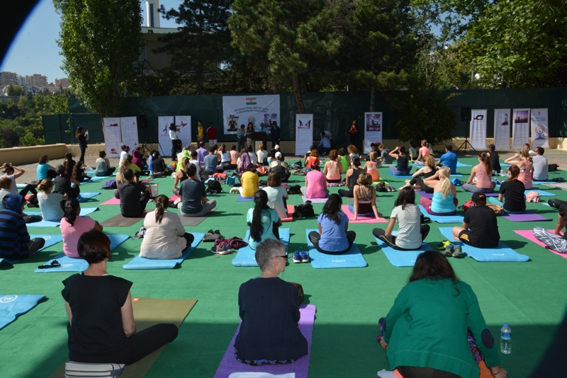 International Day of Yoga 2017, Ankara