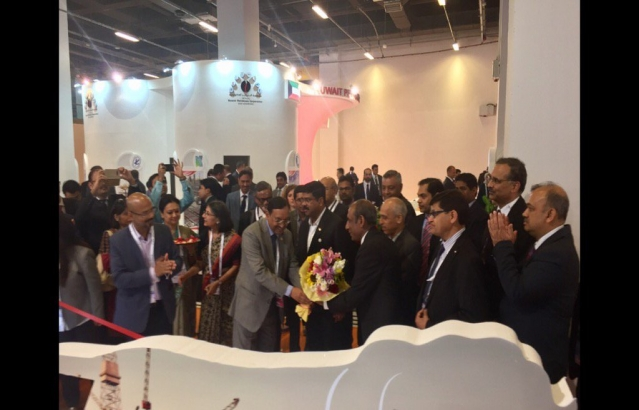 Minister of State, Petroleum and Natural Gas Mr. Dharmendra Pradhan inaugurates Indian Pavilion at World Petroleum Congress, Istanbul