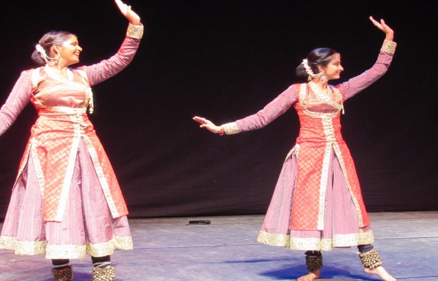Kathak dance recital by Abhishek Khichi and his group, Ankara, September 12, 2017