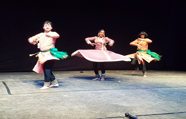Celebrating 70 years of Indias Independence  Kathak Dance Recital by Abhishek Khichi group, Ankara, September 12