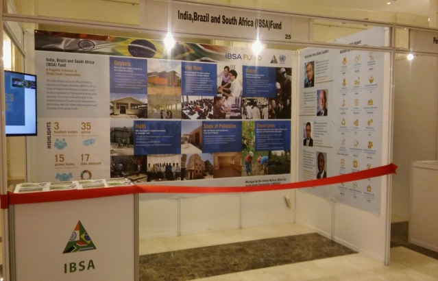 The IBSA Fund Side Event at the Global South-South Development Expo, 27 November 2017