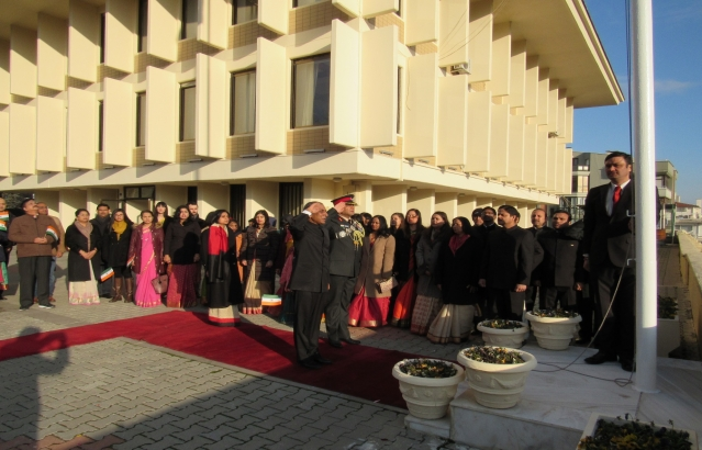 69th Republic Day Celebrations at the Embassy of India Ankara on 26th January, 2018