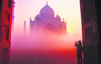 Agra Where the Taj Mahal shines on earthly souls