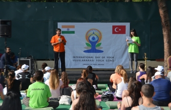 International Day of Yoga 2018, 23 June, Ankara (Turkey)