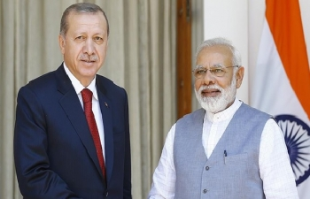 India-Turkey relations are rising on the basis of friendship.