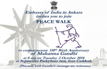 Invitation for Peace Walk