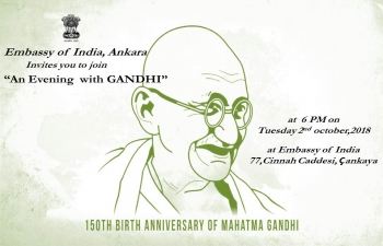 Peace walk and an evening with gandhi