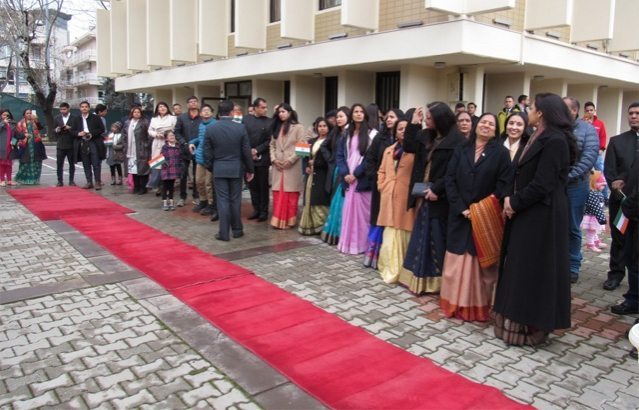 70th Republic Day of India was celebrated in the premises of Embassy of India, Ankara in the morning of 26 January, 2019