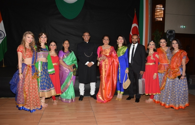 National Day Reception hosted by the Ambassador Sanjay Bhattacharyya on 26.01.2019 at Hotel Hilton SA, Ankara on the occasion of the 70th Republic Day of India