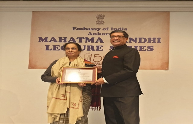 2nd Lecture of Mahatma Gandhi Lecture organised in Embassy of India, Ankara on  February 25, 2019