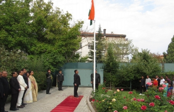 73rd Independence Day celebration at India House Ankara.
