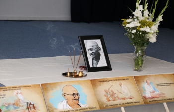 Prayer Session  to Commemorate the 150th Birth Anniversary of Mahatma Gandhi