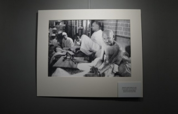 Gandhi@150 - Rare Archival Photographs  By Kulwant Roy