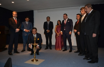 Embassy Organized India Business Forum and Invest India Seminar