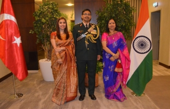 Indian Embassy hosts National Day Reception