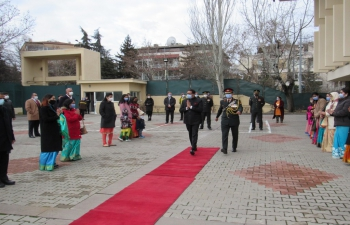 Indian Embassy Celebrates 72nd Republic Day