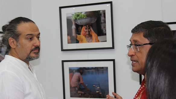 Description: Ankara hosts photo exhibition on India