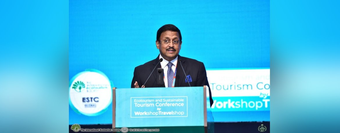 Ambassador SanjayPanda addressing the Ecotourism & Sustainable Tourism Conference at Tokat in Central Turkey (July 27-31, 2021)