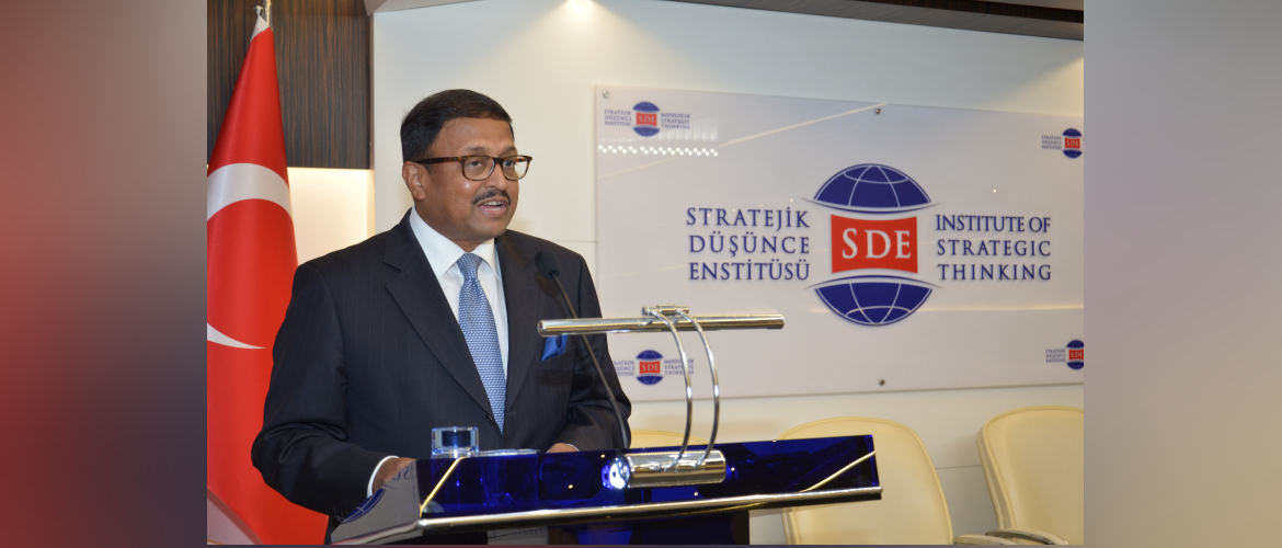 Ambassador's Interaction with   students of the International Diplomacy School at Think Tank Institute of Strategic Thinking on June 28, 2021