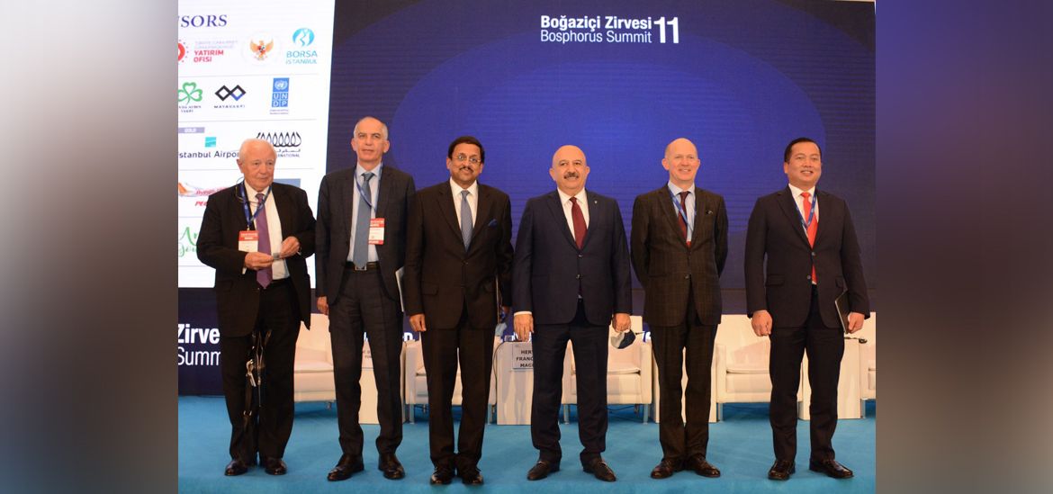 Ambassador Sanjay Panda attended the Bosphorous Summit Istanbul on March 09, 2021