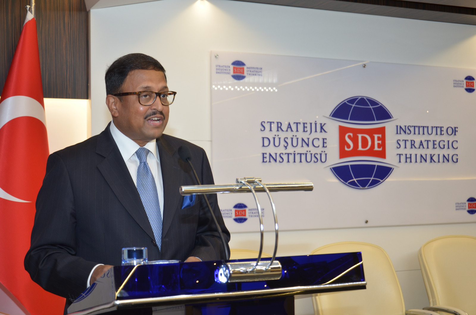 Ambassador's Interaction with Think Tank Institute of Strategic Thinking on June 28, 2021